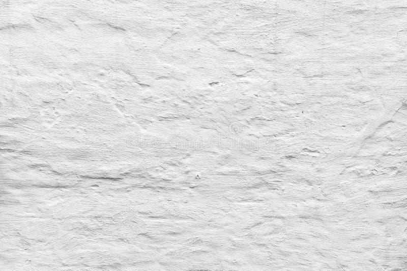 Muro di cemento ruvido con gesso bianco fotografia stock libera da diritti
