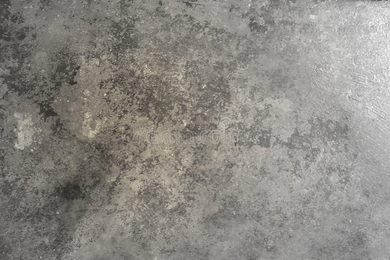 Muro di cemento strutturato grigio, bello lerciume astratto Decorativ fotografie stock libere da diritti