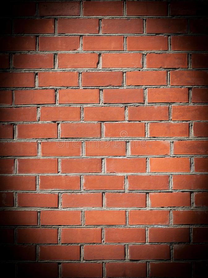 Muro di mattoni. illustrazione di stock