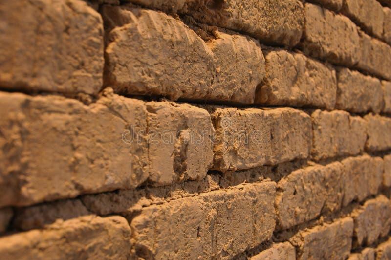 Muro di mattoni antico fotografie stock libere da diritti