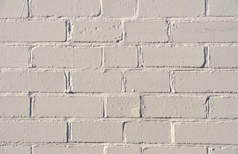 Muro Di Mattoni Bianco Fotografie Stock Gratis