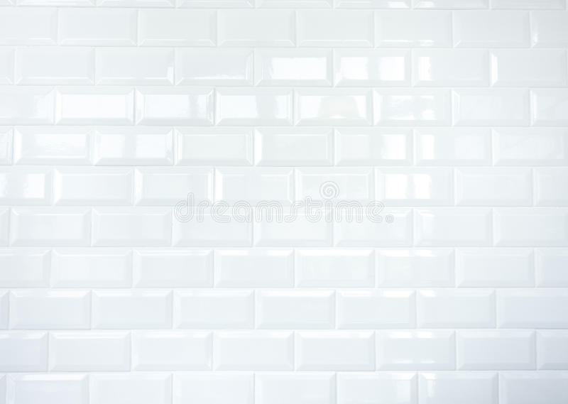 Muro di mattoni bianco della piastrella di ceramica immagini stock