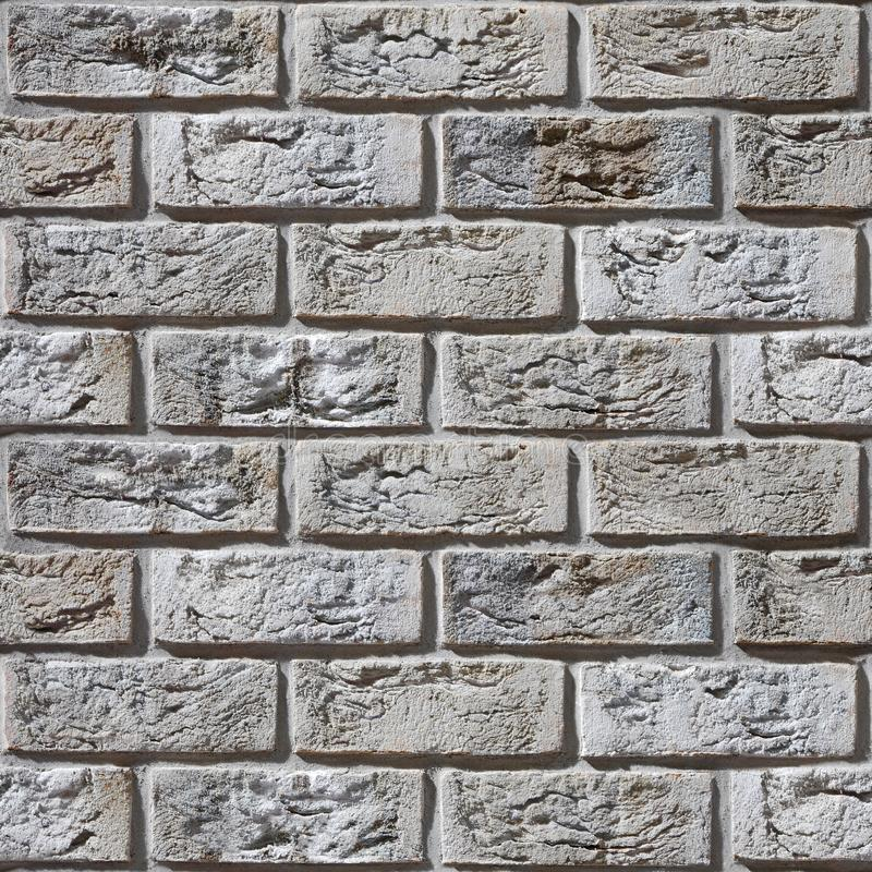 Muro di mattoni d'annata - aspetto rustico - fondo senza cuciture fotografia stock libera da diritti