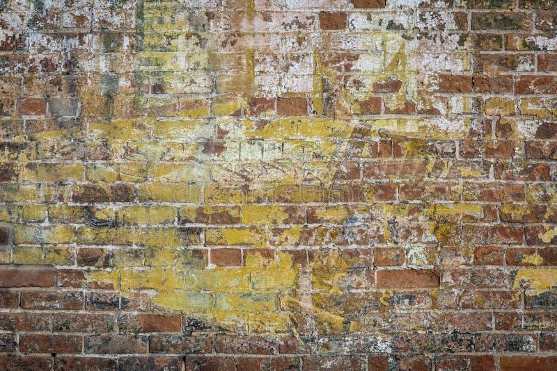 Muro di mattoni dei graffiti