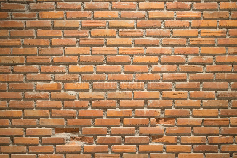 Muro di mattoni del Brown immagine stock