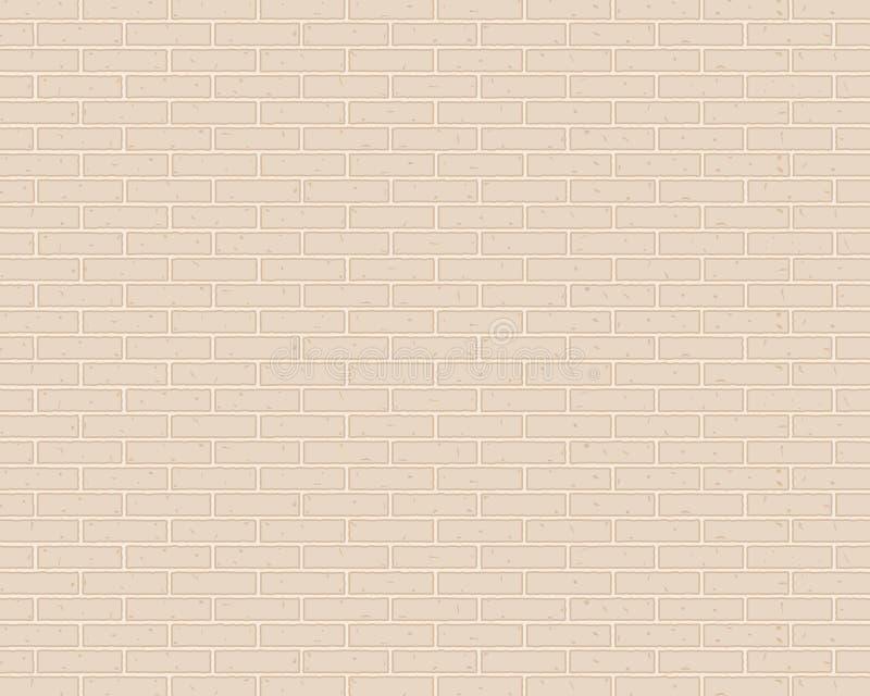 muro di mattoni del fondo del mattone o di colore leggero royalty illustrazione gratis
