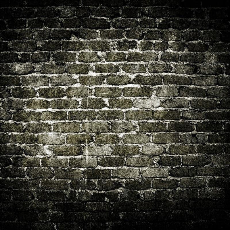 Muro di mattoni di Grunge fotografia stock libera da diritti