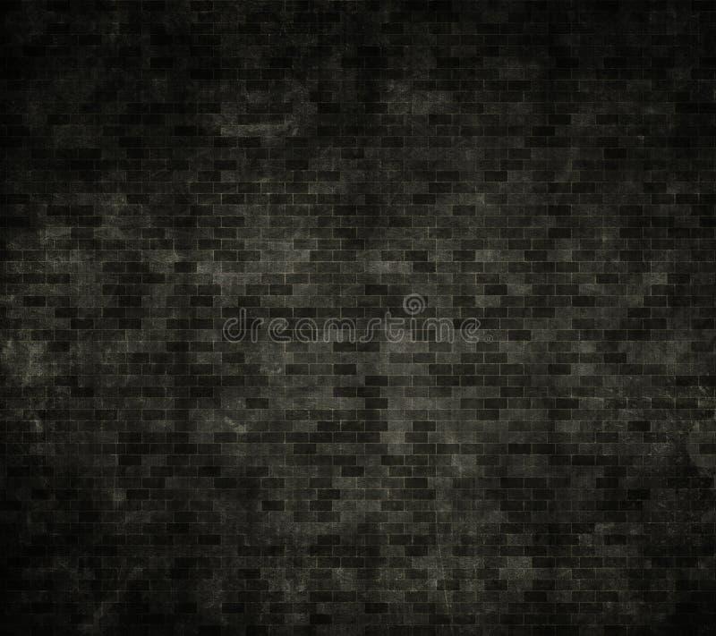 Muro di mattoni di Grunge illustrazione di stock