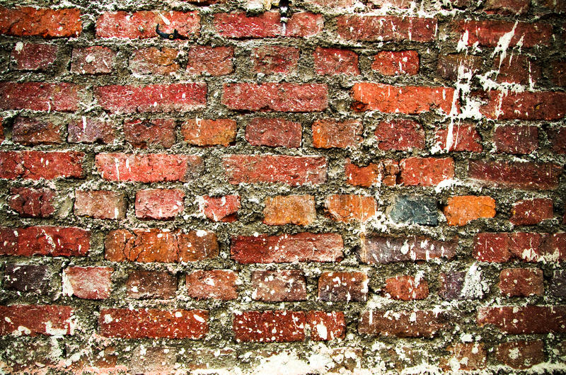 Muro di mattoni di Grunge immagini stock libere da diritti