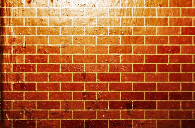 Muro di mattoni di Grunge royalty illustrazione gratis