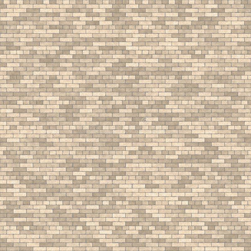 Muro di mattoni di Tileable illustrazione di stock