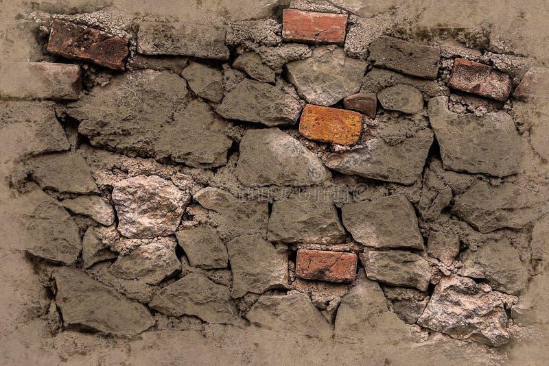 Muro di mattoni Fondo astratto con i mattoni fotografie stock
