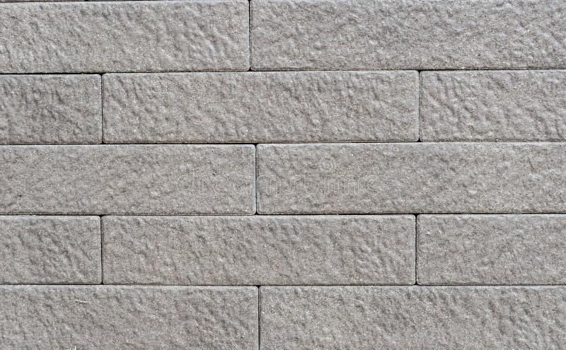 Muro di mattoni grigio fotografie stock libere da diritti
