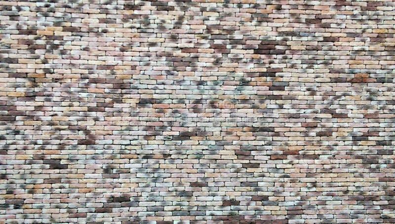 Muro di mattoni marrone classico fotografie stock