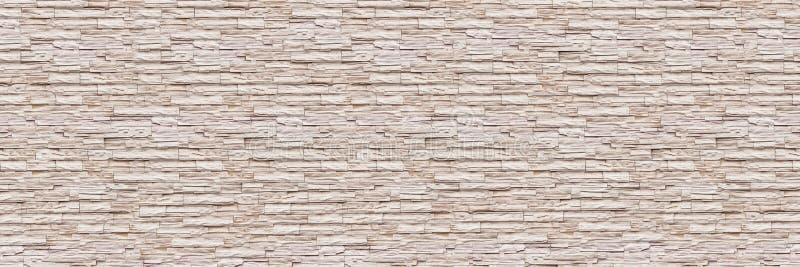 muro di mattoni moderno orizzontale dell'ardesia per il modello ed il fondo immagine stock libera da diritti