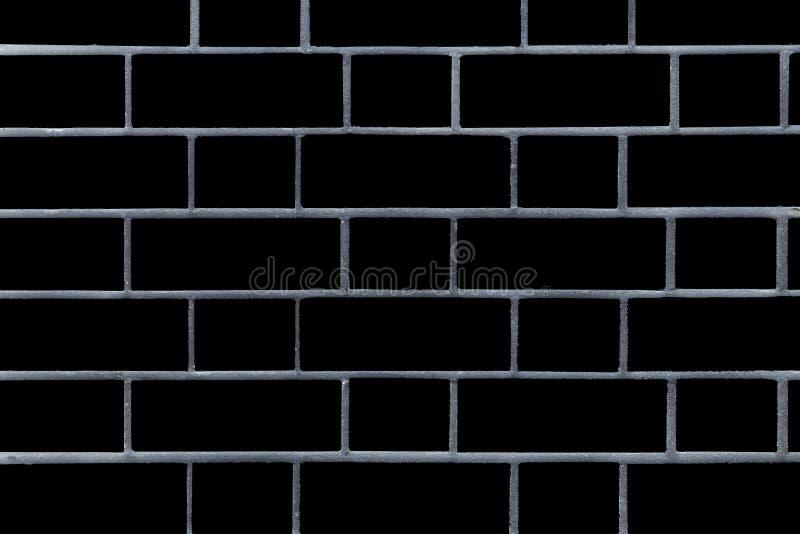 Muro di mattoni nero Grafici di vettore Immagine di sfondo di un muro di mattoni fotografia stock libera da diritti