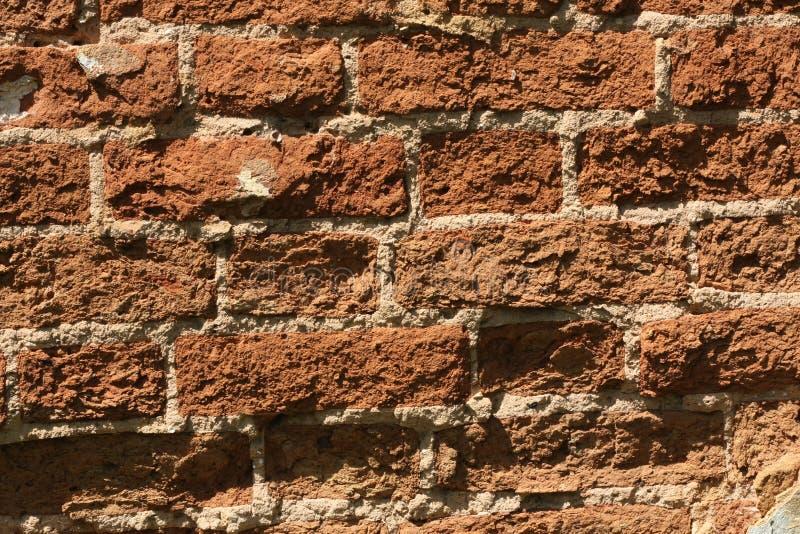 Muro di mattoni, priorità bassa. fotografia stock