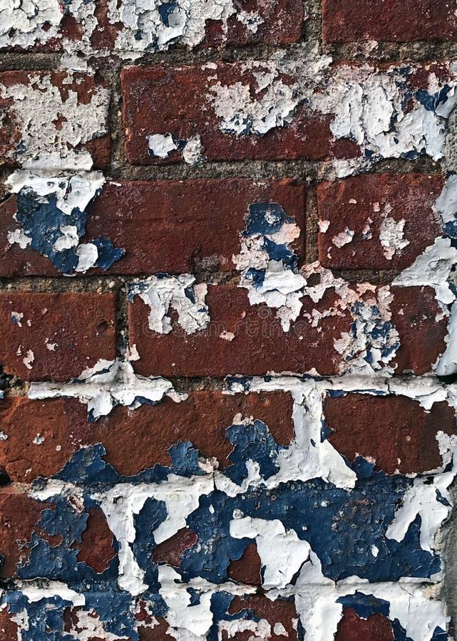 Muro di mattoni rossi dell'edificio fotografie stock