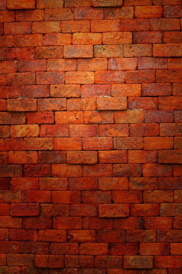 Muro di mattoni rosso. fotografia stock libera da diritti