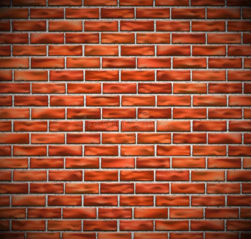 Muro di mattoni rosso royalty illustrazione gratis