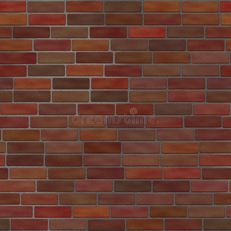 Muro di mattoni senza giunte royalty illustrazione gratis