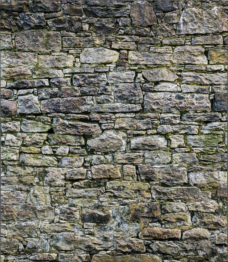 Muro di mattoni sporco fotografia stock