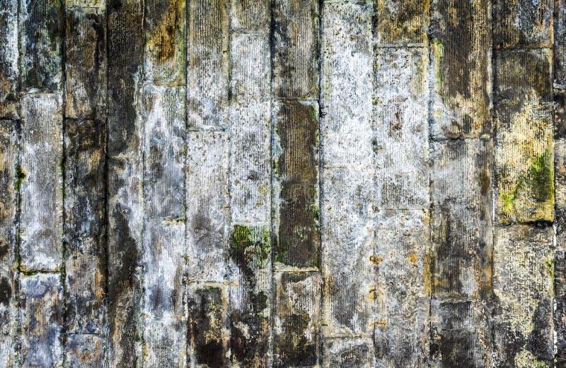 Muro di mattoni sporco fotografie stock