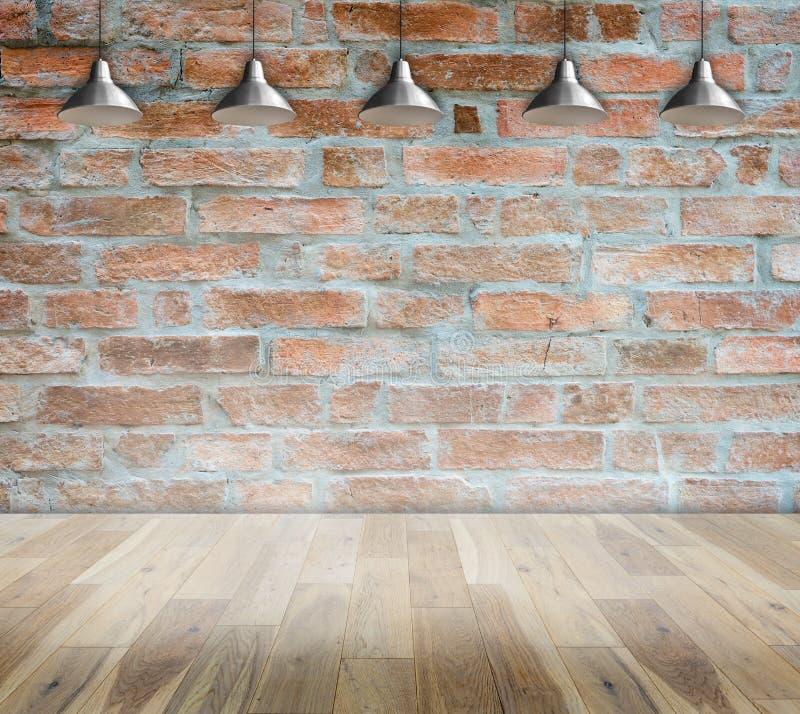 Muro di mattoni su stile moderno interno della stanza di for Stile moderno della prateria