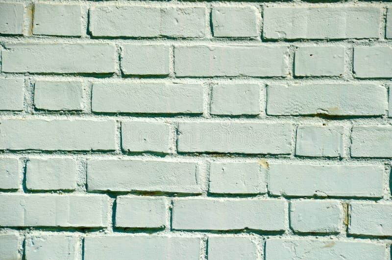 Muro di mattoni verde pastello fotografia stock libera da diritti