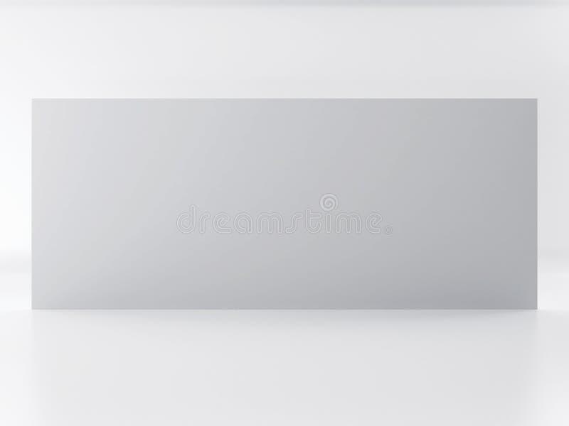 Muro divisorio di colore leggero, fondo illustrazione di stock