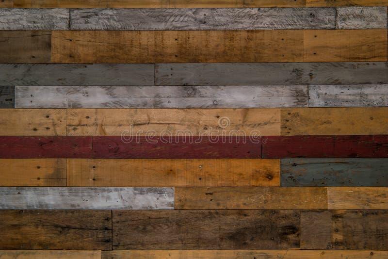 Muro rústico de madera de paleta fotos de archivo libres de regalías