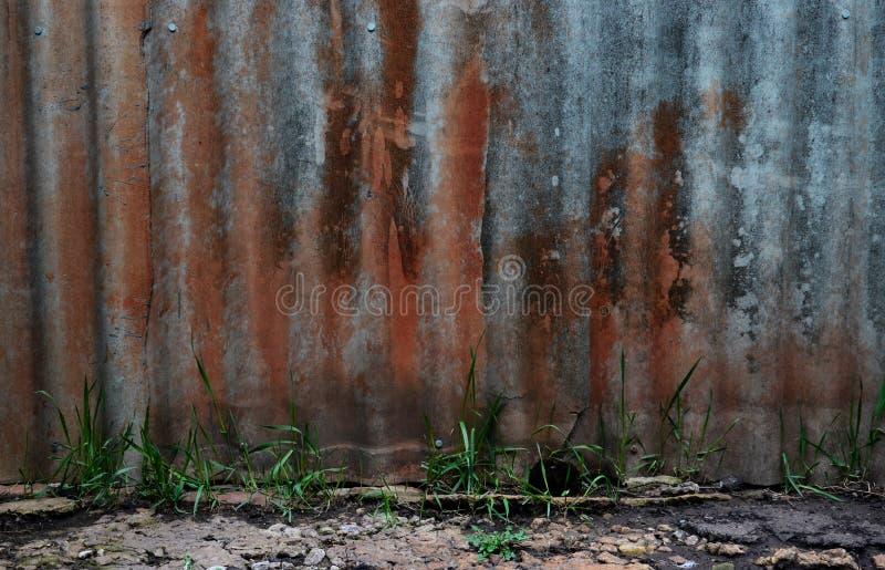 Muro Sangrento Andar de Halloween imagem de stock