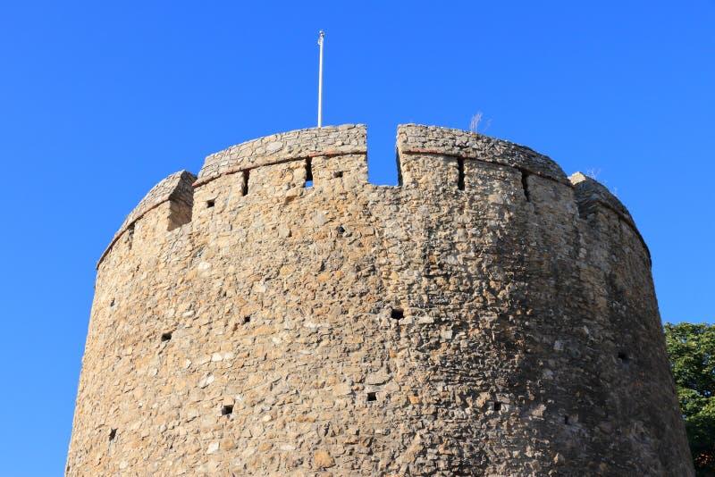 Muros das cidades Pecs, Hungria foto de stock
