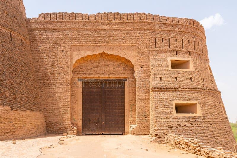 Muros Derawar Fort 36 imagem de stock