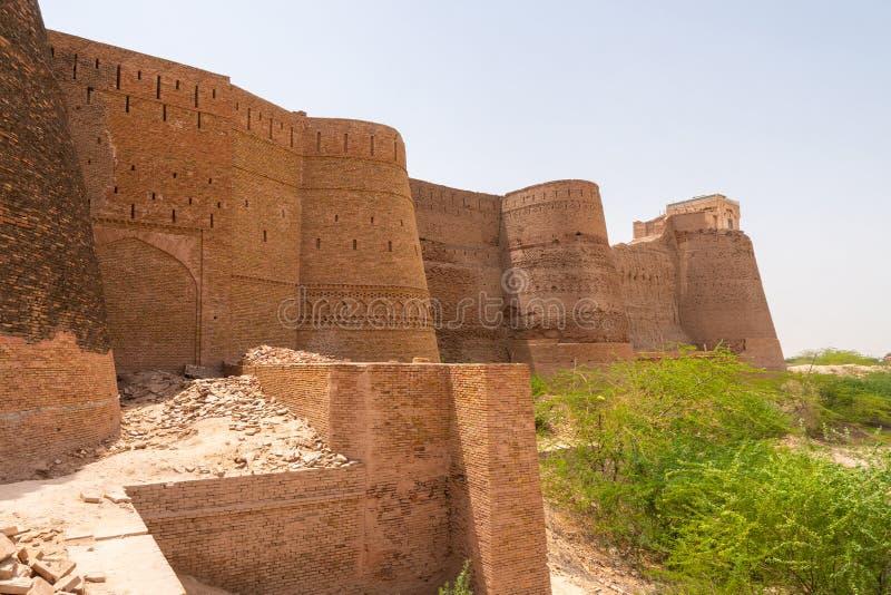 Muros Derawar Fort 40 fotografia de stock