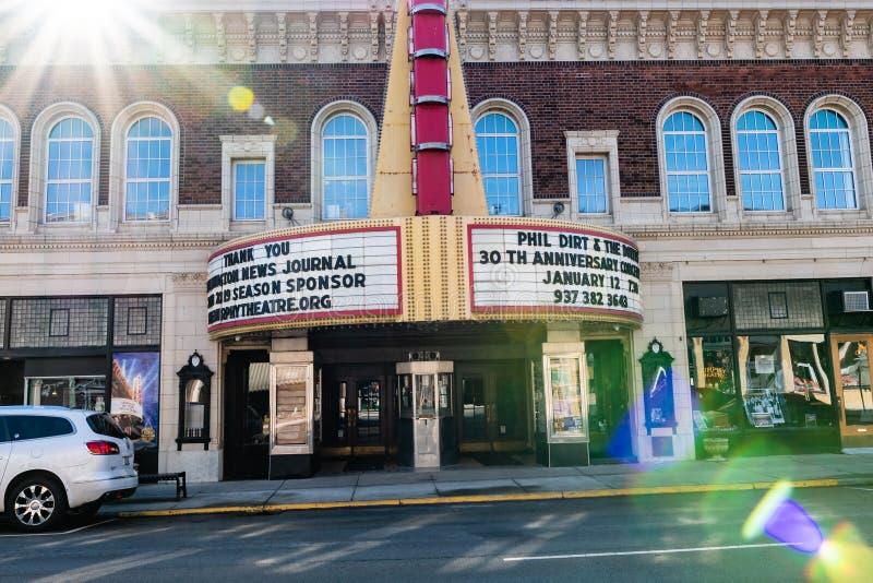 Murphy Theater i Wilmington arkivfoto