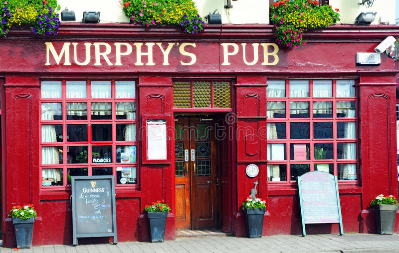 Murphys Pub royaltyfri bild