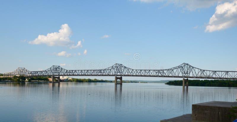 Murray Baker Bridge royalty-vrije stock afbeeldingen