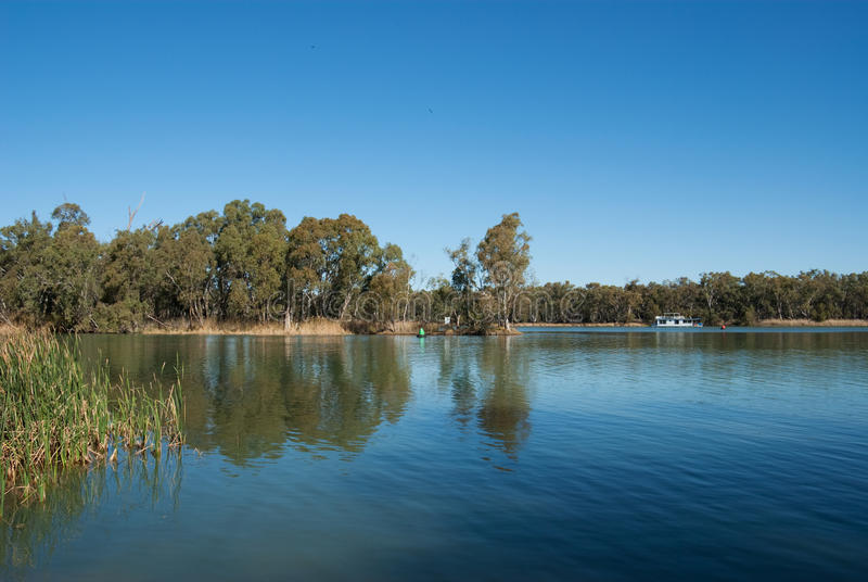 Murray-Darling Junction royalty free stock photo