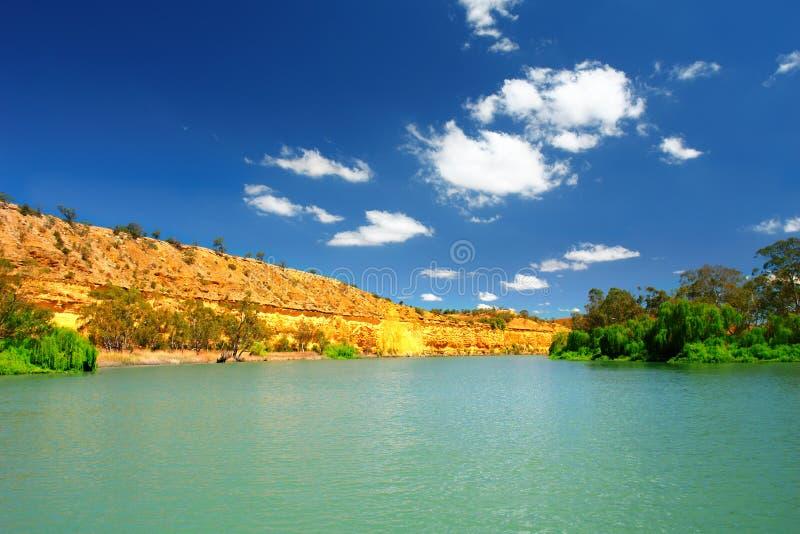 Murray-Fluss lizenzfreie stockfotografie
