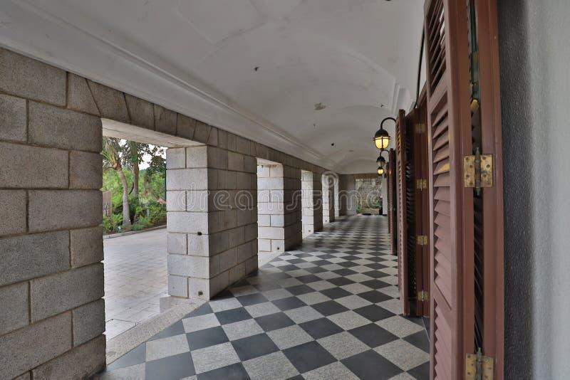 Murray House in Stanley Hongkong royalty-vrije stock fotografie