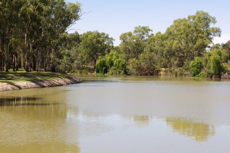 Murray River - Mildura images libres de droits