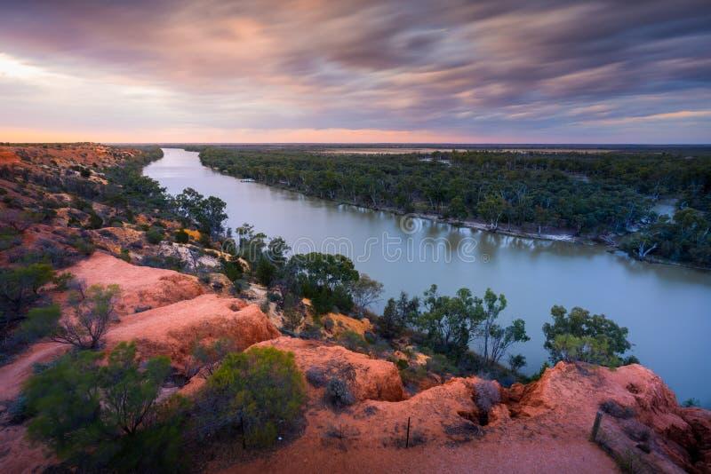 Murray River, Zuid-Australië royalty-vrije stock fotografie