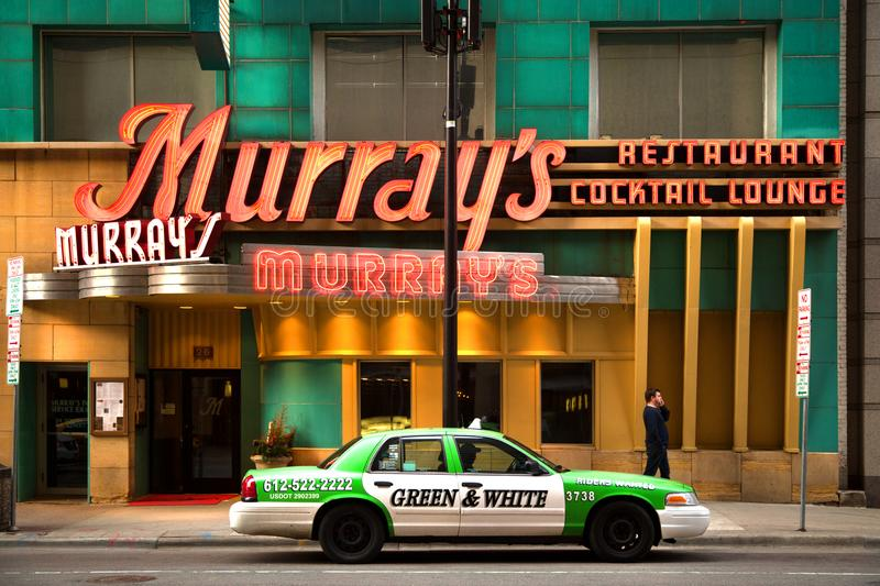 Murray`s reataurant in Minneapolis in Minnesota stock images