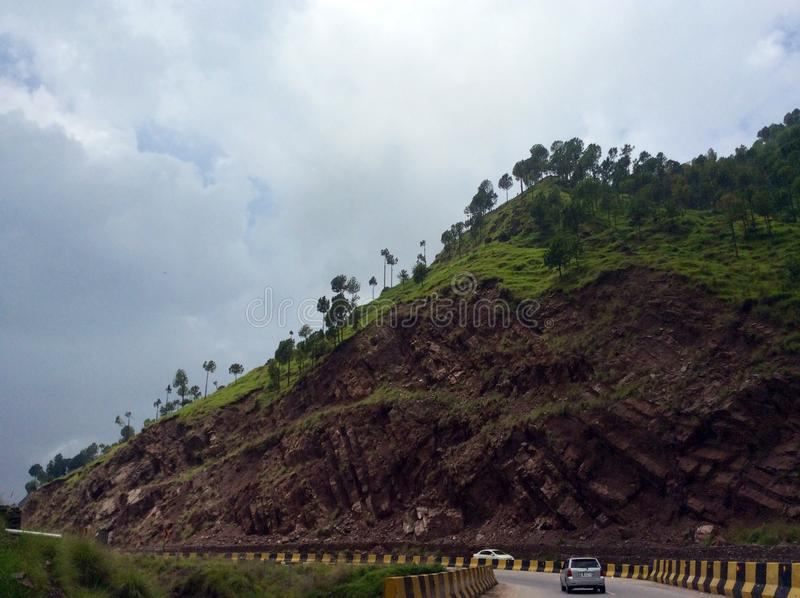 Murree Road stock images