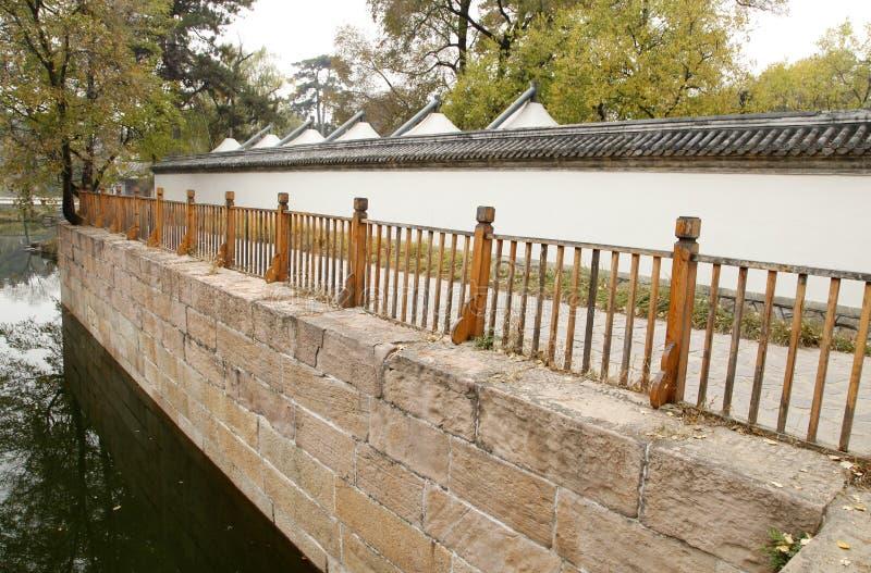 Murs classiques chinois de jardin photos libres de droits