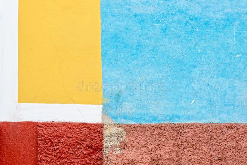 Murs colorés du Trinidad au Cuba photo libre de droits