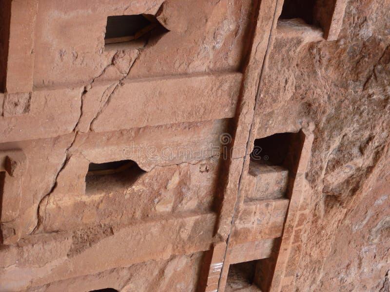Murs d'église chrétienne en Afrique images libres de droits