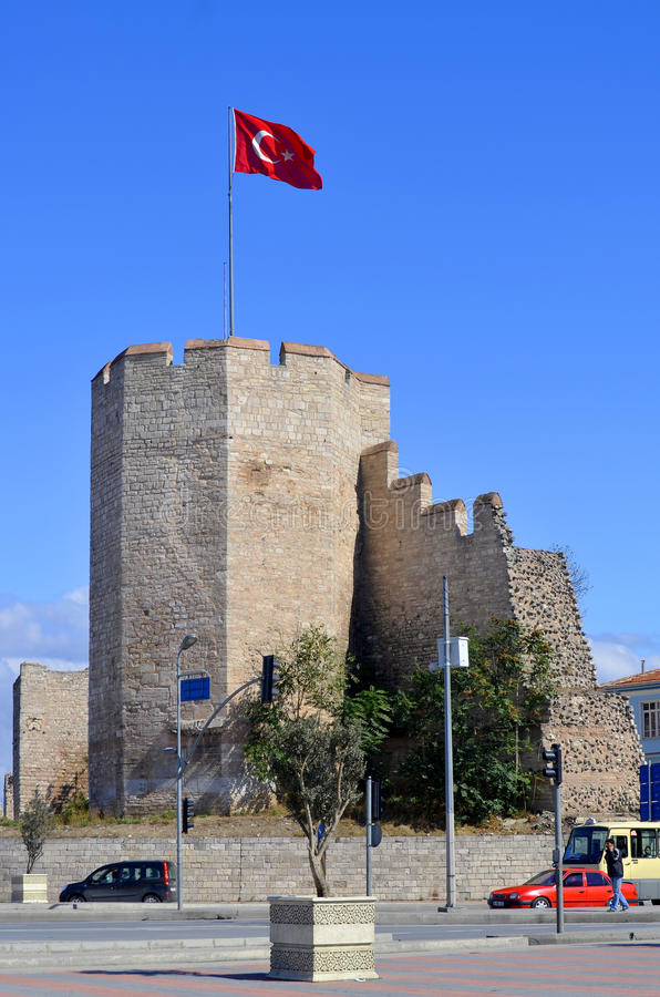 Murs de Constantinople photos libres de droits