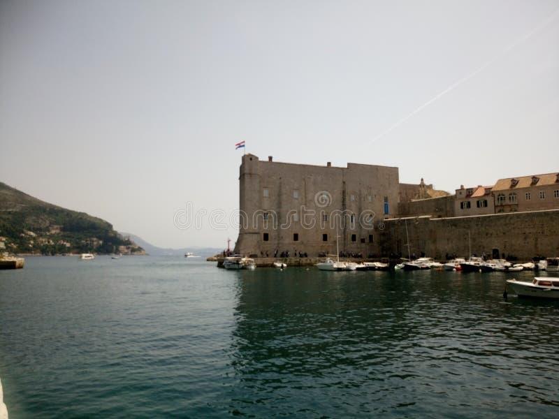 Murs de Dubrovnik photos stock